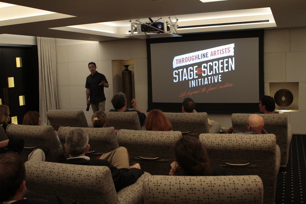J.J. Kandel discusses the Stage to Screen Initiative