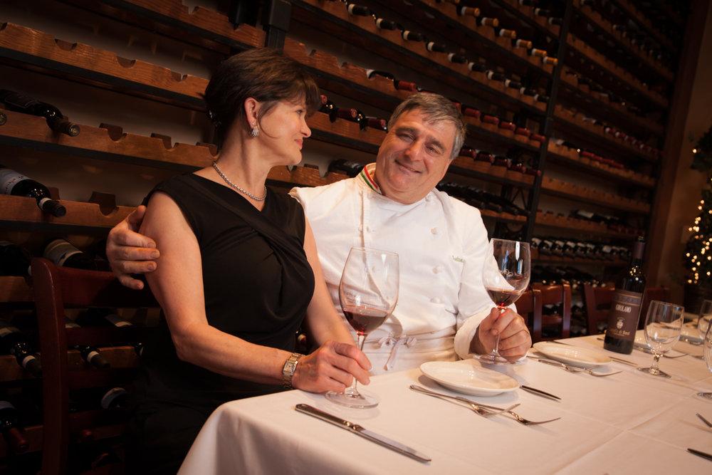 Antonio and Andrea Capece