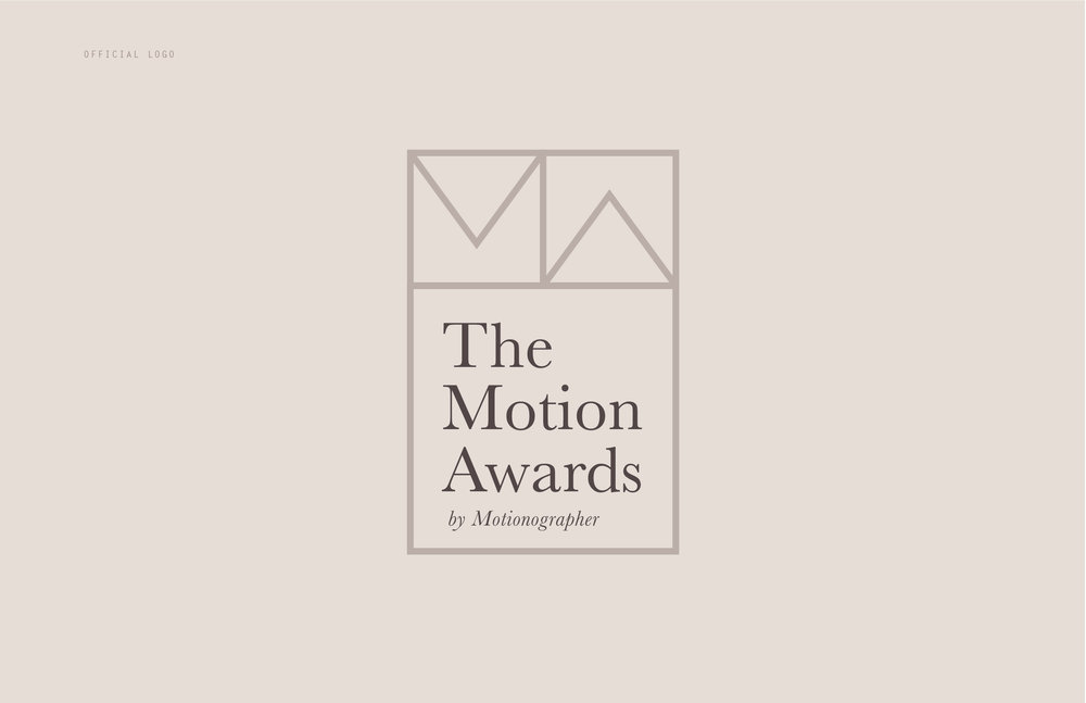 The Motion Awards by Motionographer - Official logo