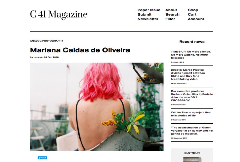 C 41 magazine - fevereiro 2016