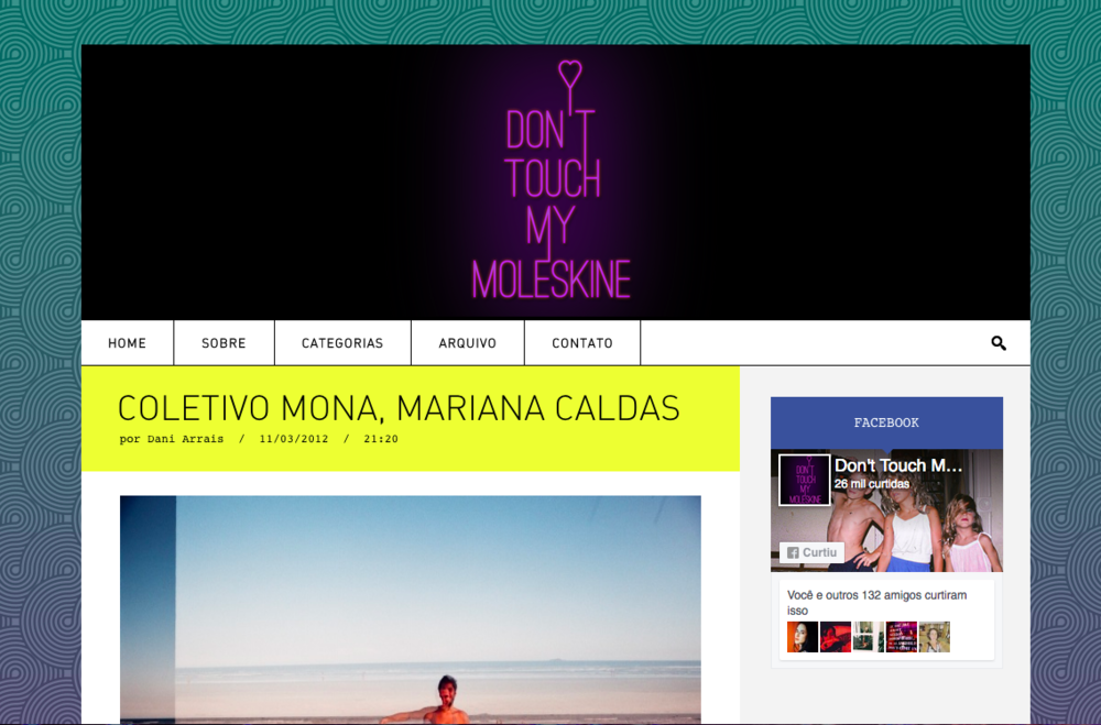 coletivo mona @ don't touch my moleskine -
