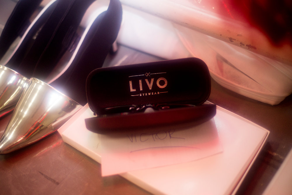 livo x gloria ceolho - exclusive for livo eyewear @ backstage gloria coelho spfw