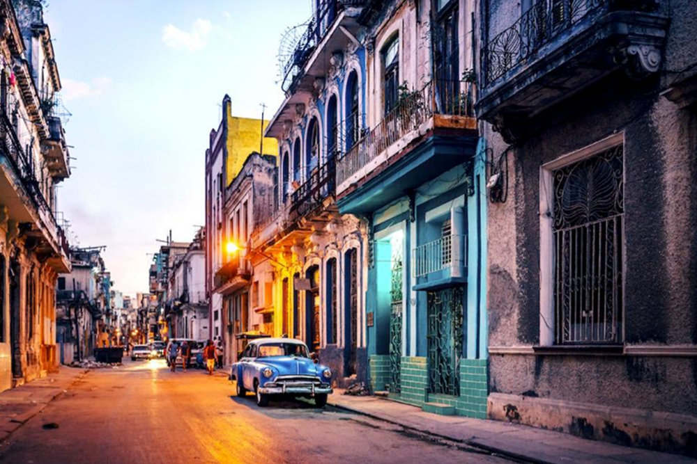 With cigar factories, pastel houses, outdoor boxing rings, crumbling façades, and '57 Chevys, this capital city is perfect for photography. Also, for more Cuban culture, check out the cabaret shows performed at the famed Tropicana.