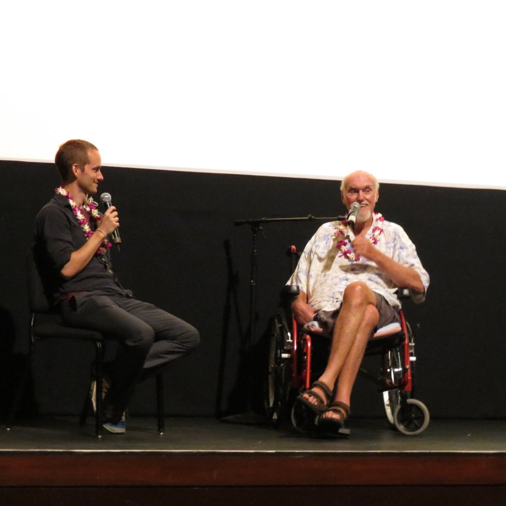 Q&A at the Maui Film Festival with Ram Dass and Jeremy Frindel