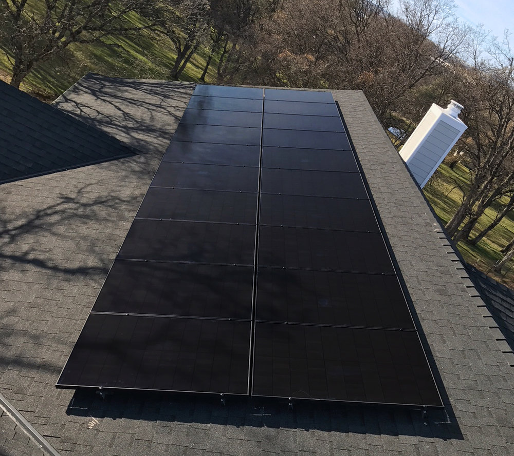 Solaria 230s installed by Auburn Solar - Auburn, CA