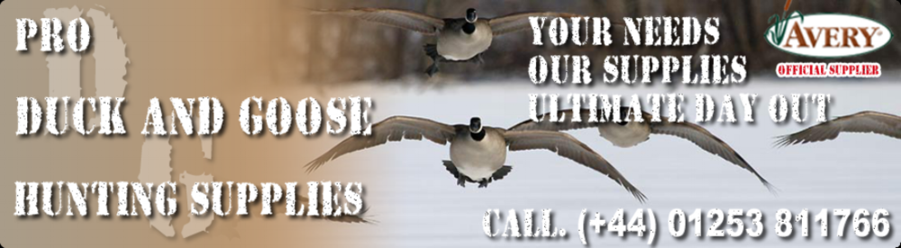Uk company supplying high quality American waterfowl equipment and clothing.