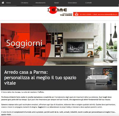 Tre   Emme   (Parma)- Fabbrica di mobili e negozio di arredi per casa e ufficio