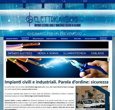Elettrica Oggi (Rubiera, RE)- Installatore di impianti civili e industriali