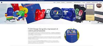 F.O.M. Design (Riccione, RN) - Serigrafia, tampografia e tipografia