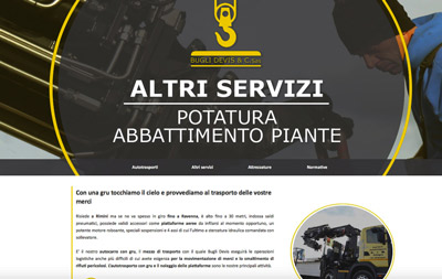 Bugli Devis (Santarcangelo di Romagna, RN) - Trasporto merci con gru