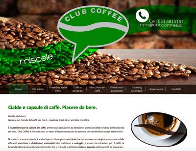 Club Coffee (Sala Bolognese, BO) - Distribuzione automatica di cibo e bevande