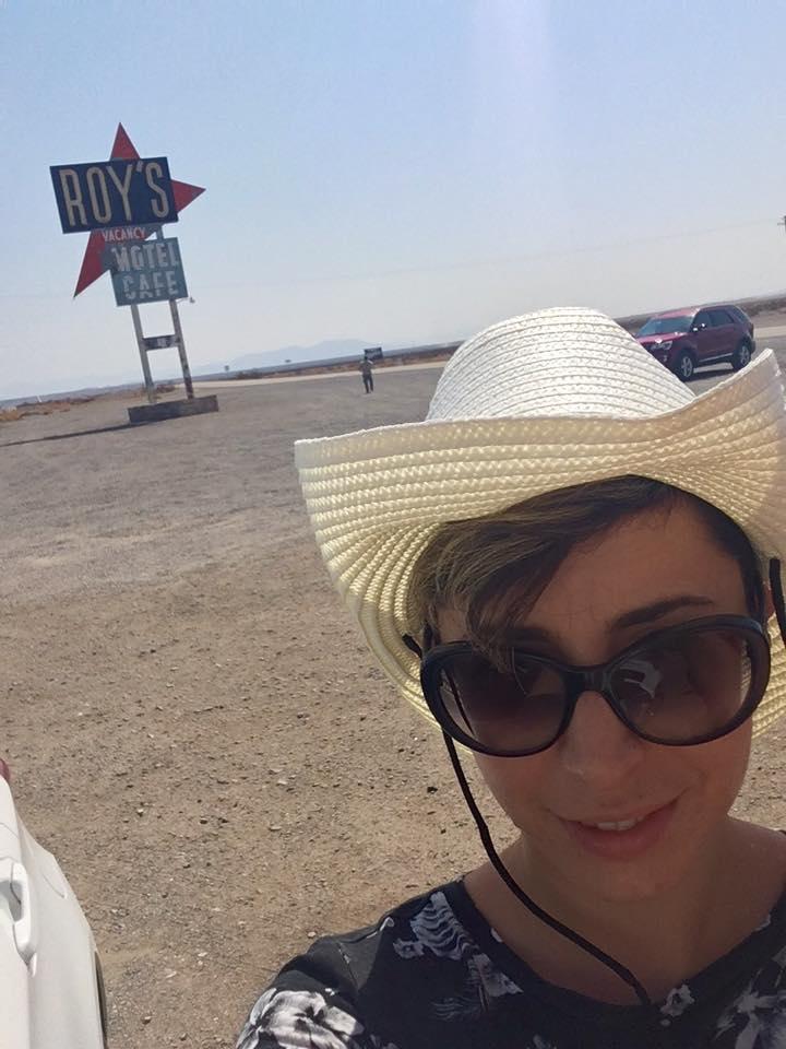 7 - Un celebre bar/benzinaio/motel sulla Route 66, Roy's Motel & Café,dove ho comprato un bellissimo cappello.