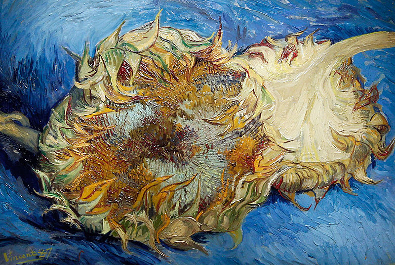 Sunflowers by Vincent van Gogh, 1887