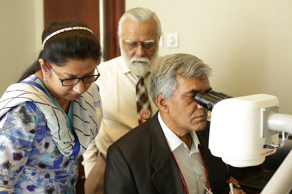 "DECEMBER   India  - The Hindu publishes article "" HelpMeSee Unfolds Cutting-Edge Technology to Combat Blindness ""  - HelpMeSee presents to global eye health leaders at the  First World Conference on MSICS  in Pune, India"