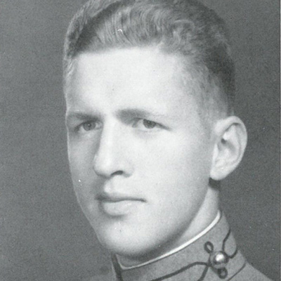 Charles Billingslea Class of 1936 Commander, 325th GIR; recipient of two Distinguished Service Crosses