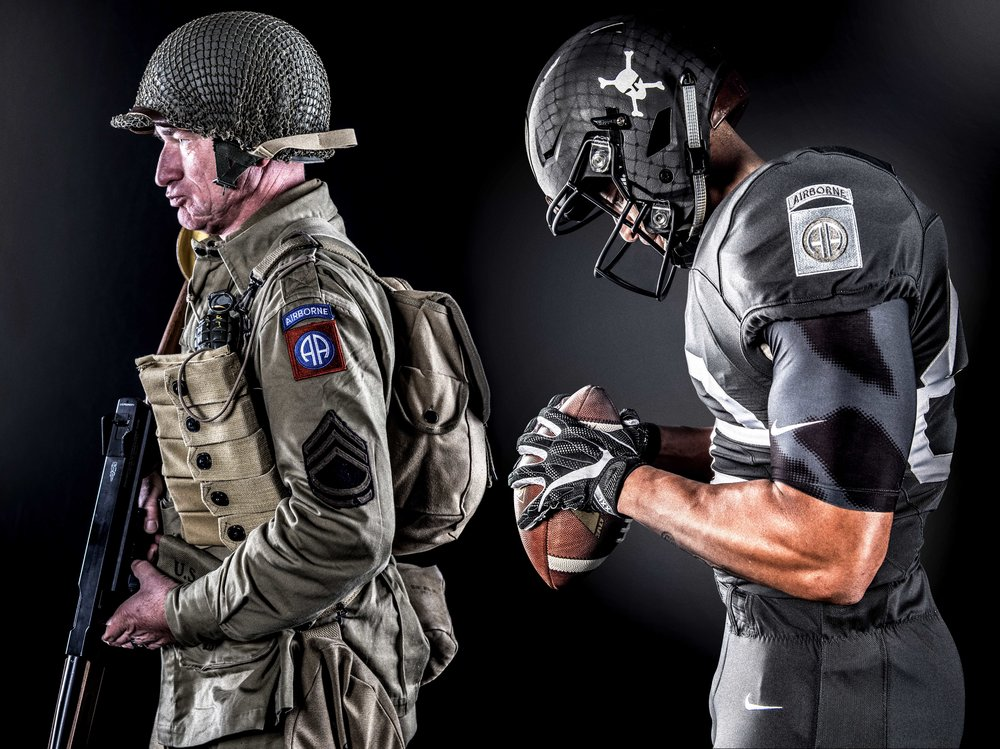 Army-Navy Game Uniform - Paratrooper Design