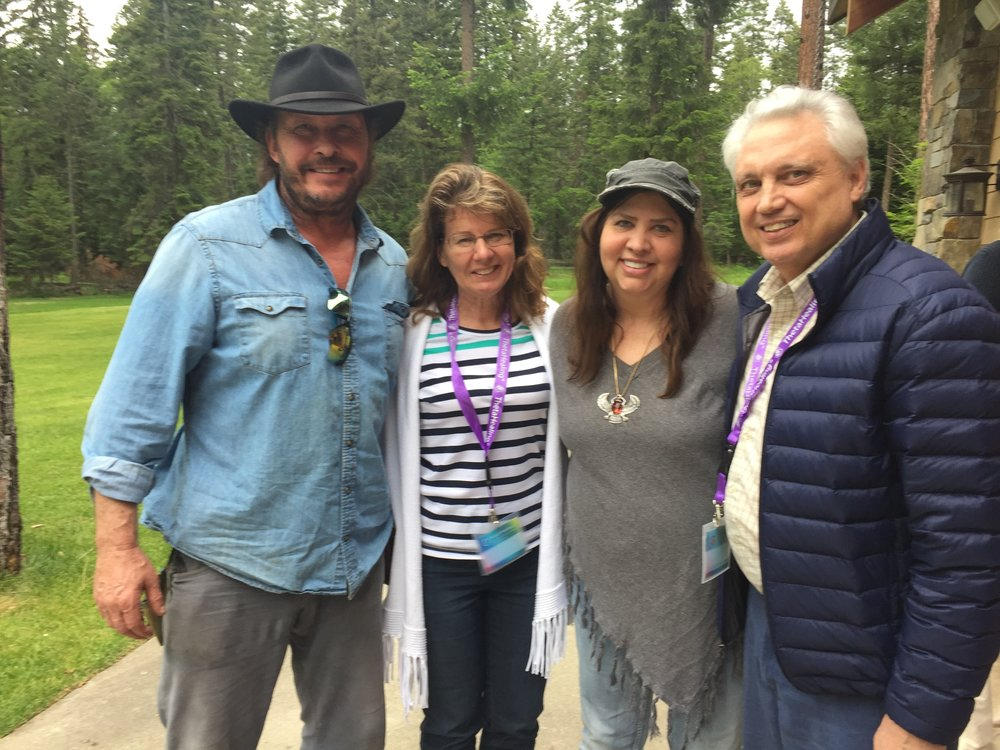 Big Fork, Montana  ThetaHealing Teacher Training with Vianna and Guy