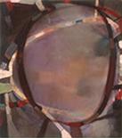 Gradual Motet 14 1999, 16x14, Oil on Linen