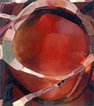Gradual Motet 19 1999, 16x14, Oil on Linen