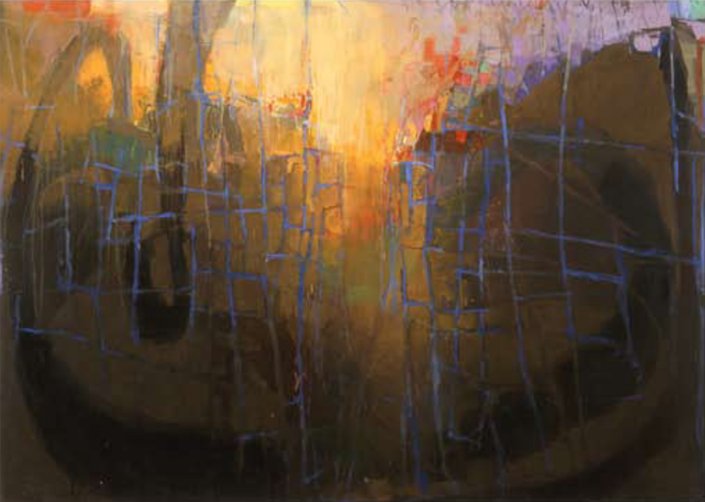 Palmetto Smooth, 2004–05, oil on linen, 56 x 79 in