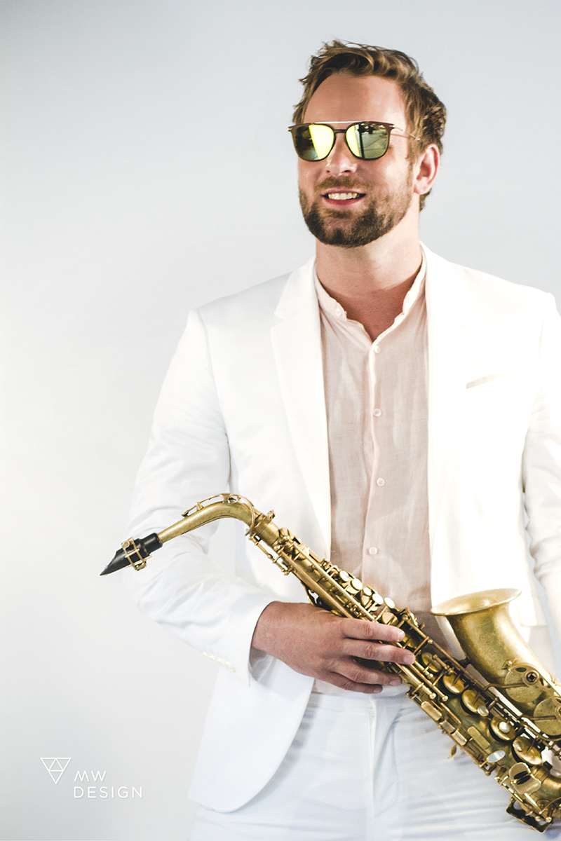 MAX THE SAX ARTWORK