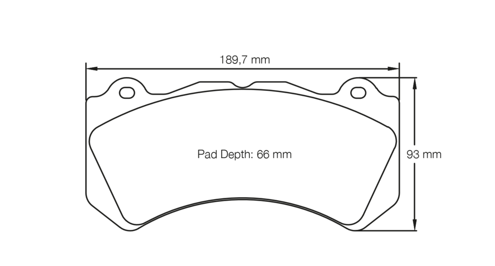 FRONT PAD SAMPLE DRAWING