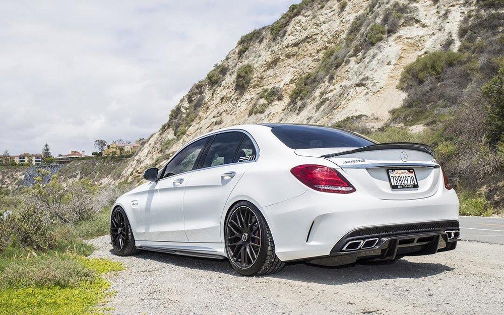 Psm Dynamic Carbon Fiber Trunk Decklid Spoiler Mercedes