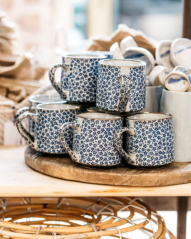 Sweet floral mugs, for the tea lover | #theboathousegroup #theboathousehome #sydneyhomewares