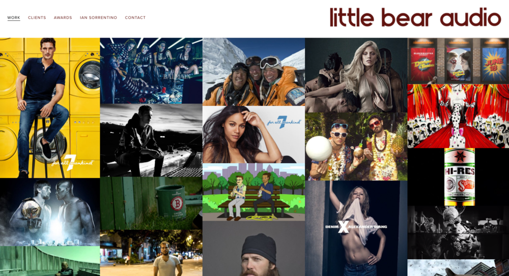 Little Bear Audio Website