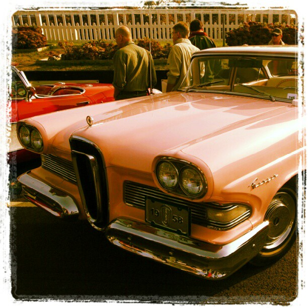The Edsel never gained popularity with contemporary American car buyers and sold poorly.