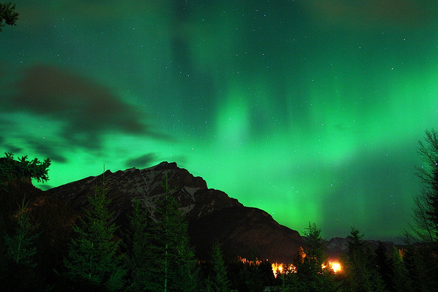 The Northern Lights (aurora borealis) are real but they have inspired many myths and silly pursuits through history