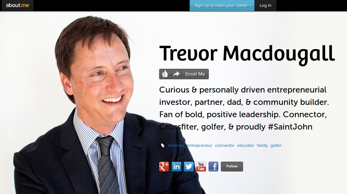 Trevor Macdougall About.me