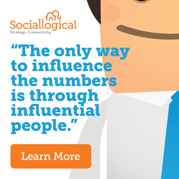 """The only way to influence the numbers is through influential people."""