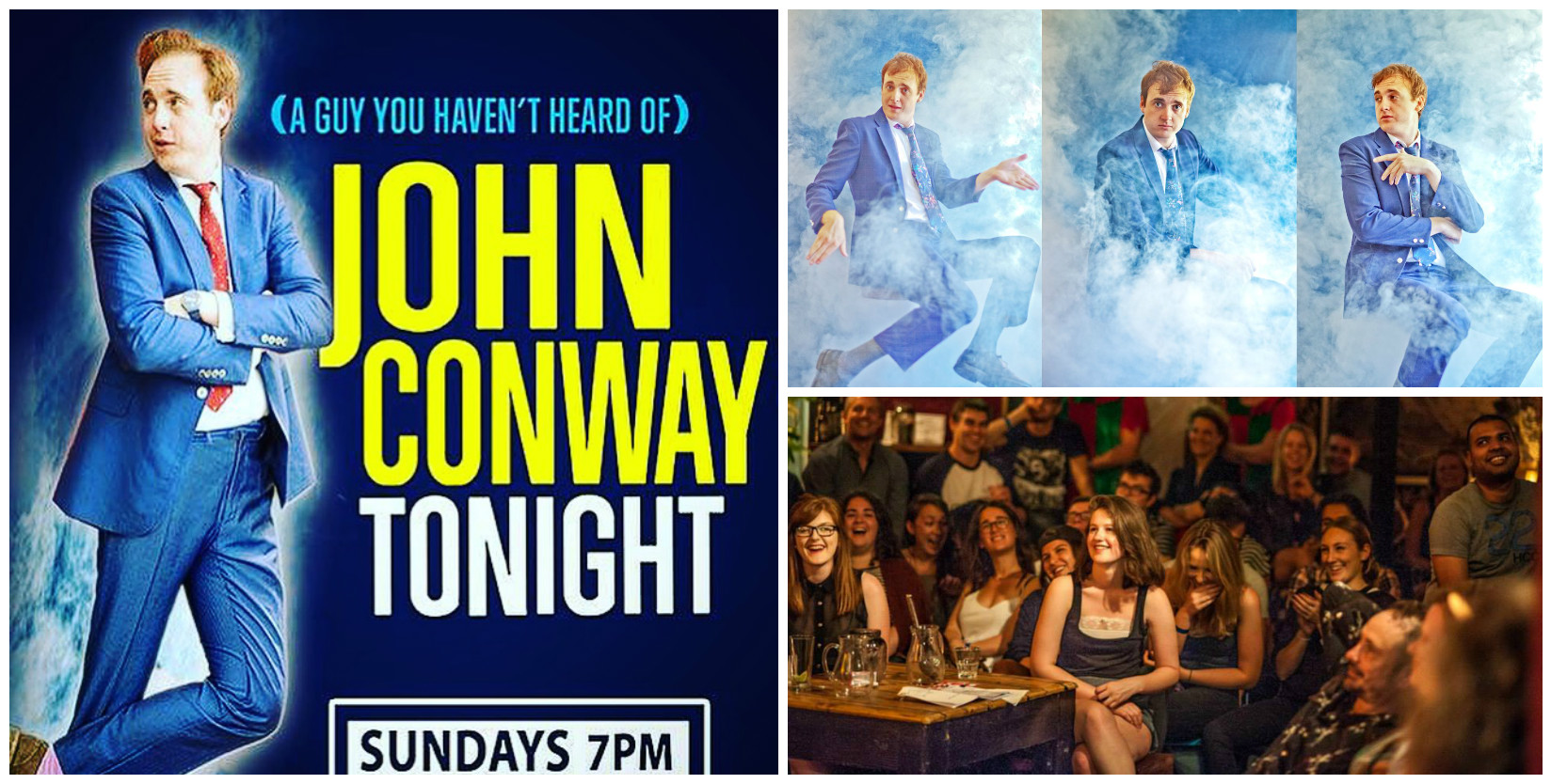 John Conway Tonight Season 2, 31st January.