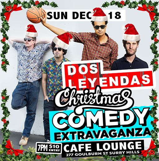 Dos Leyandas! Big One off Christmas gala special!