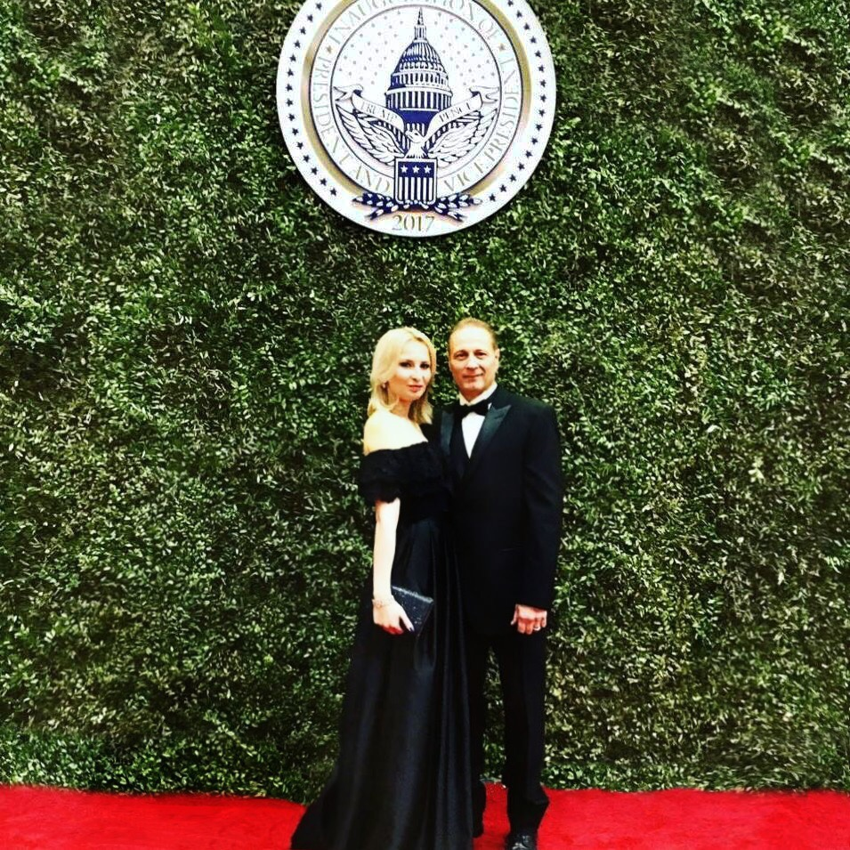 JAMES & LILLY DOWNS   PRESIDENTIAL INAUGURATION - 2017