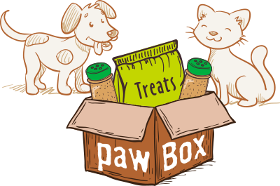 Order your favorite pet a PAWBOX today!