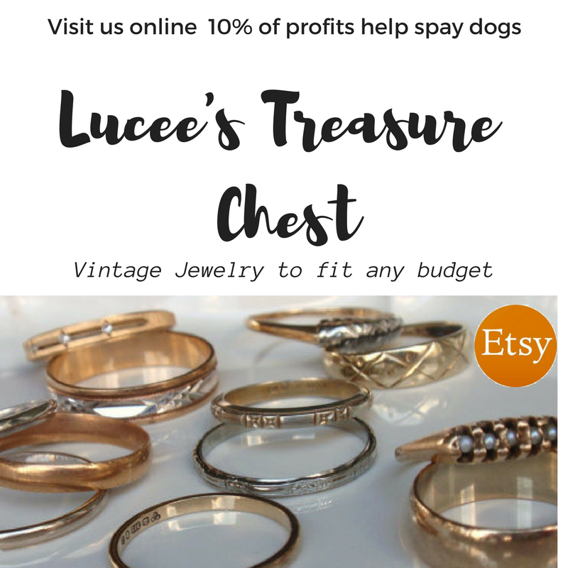 Thanks to Lucees Treasure Chest for sponsoring these adoptable dogs from CAROLINA COONHOUND. USE CODE LCD2017 for 10% off your purchase