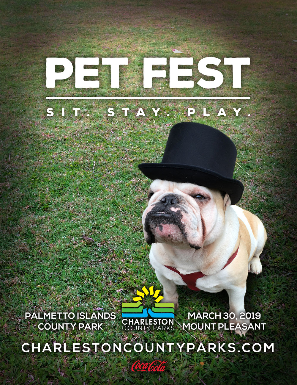 Don't miss Pet Fest, March 30th at Palmetto Islands County Park