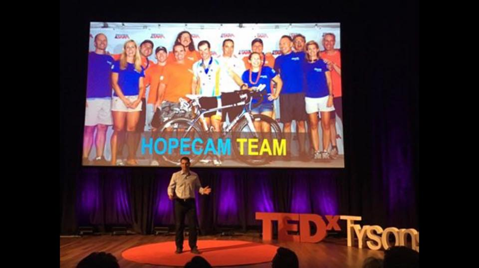 Len speaking at TEDxTysons