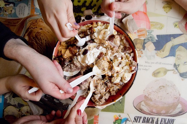 """Image of """"the Trough"""" from Ample Hills, Karen's absolute favorite ice cream shop!"""