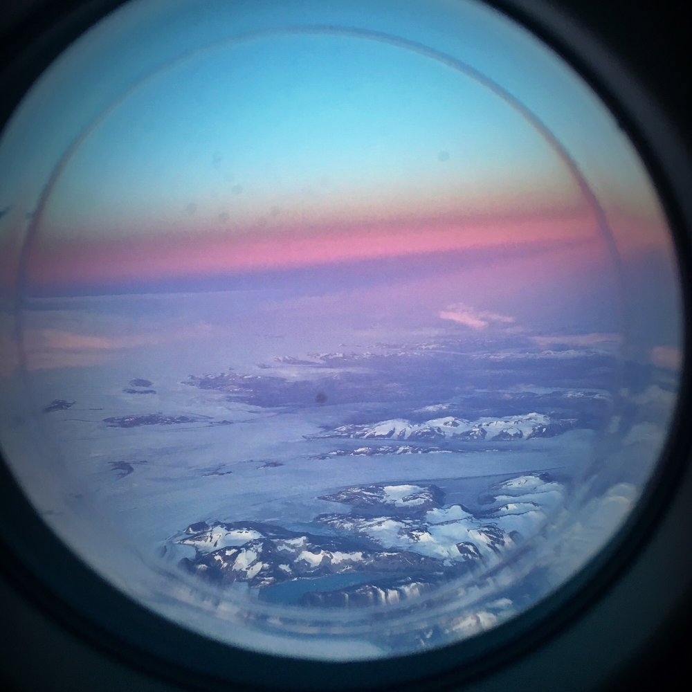 View from the airplane