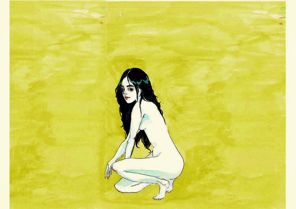 Girl Kneeling by Nabila Wirakusumah '17
