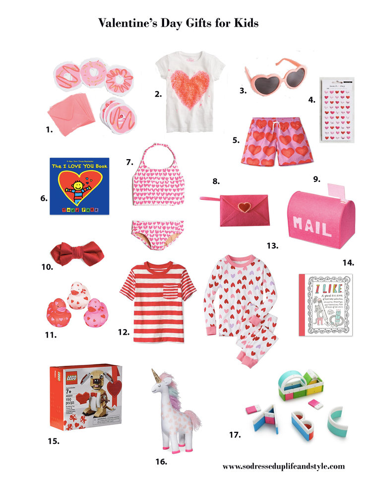 Valentine S Day Gift Guide For Kids So Dressed Up Life Style