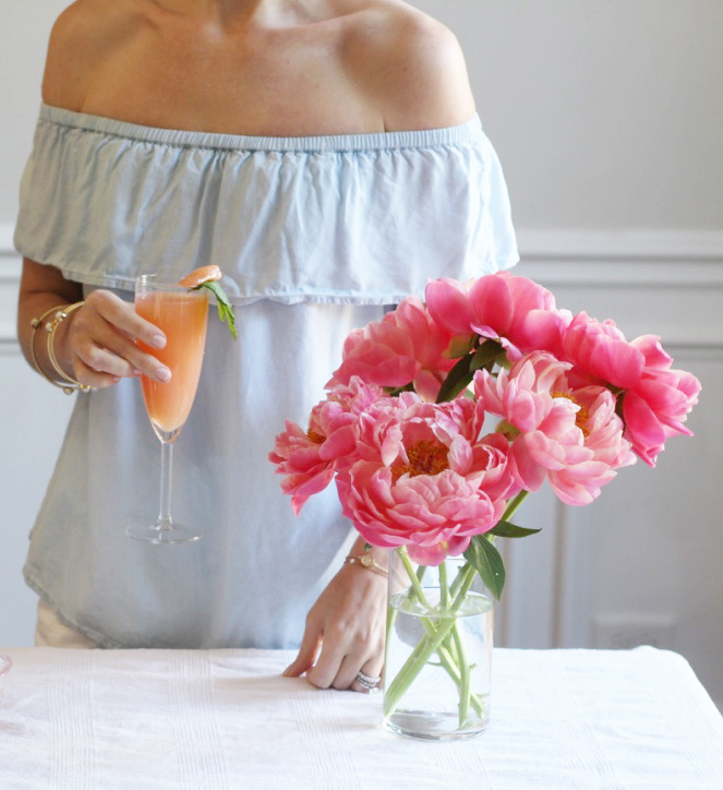 Mother's Day Brunch Cocktail - So Dressed Up