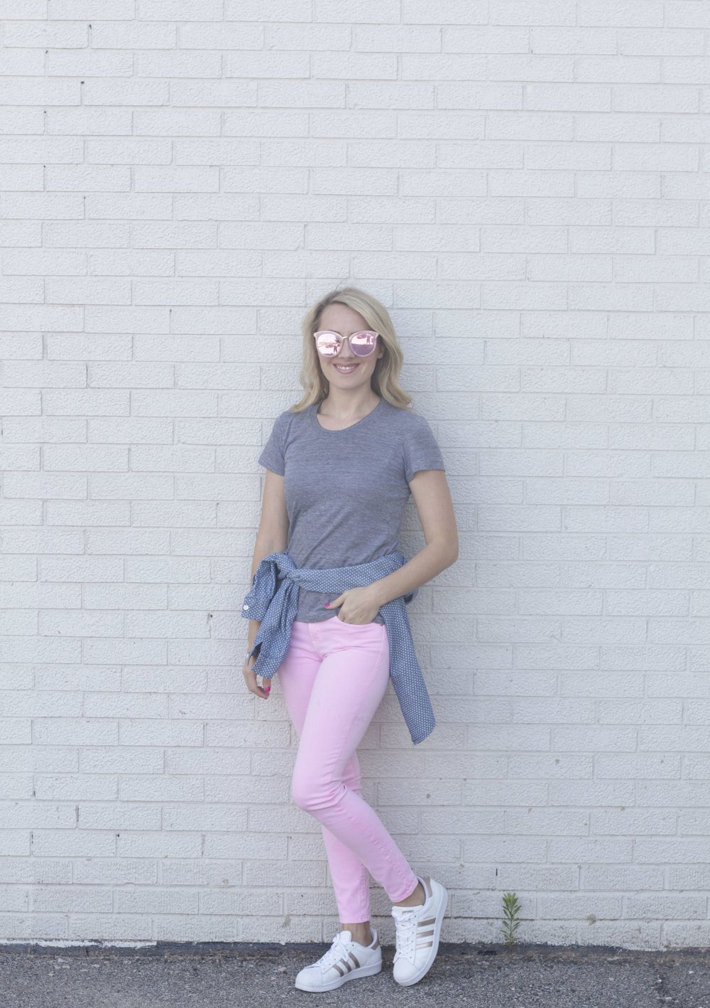 Sporty Pink Jeans So Dressed Up