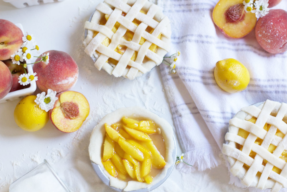Petite Peach Pie Recipe So Dressed Up