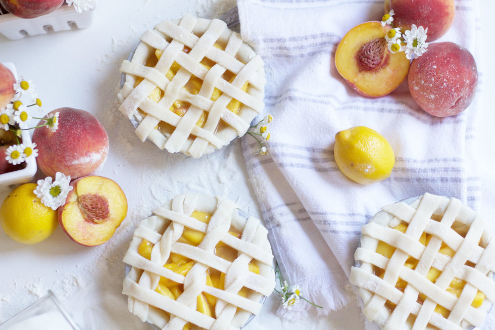 Mini Peach Pie Recipe So Dressed Up