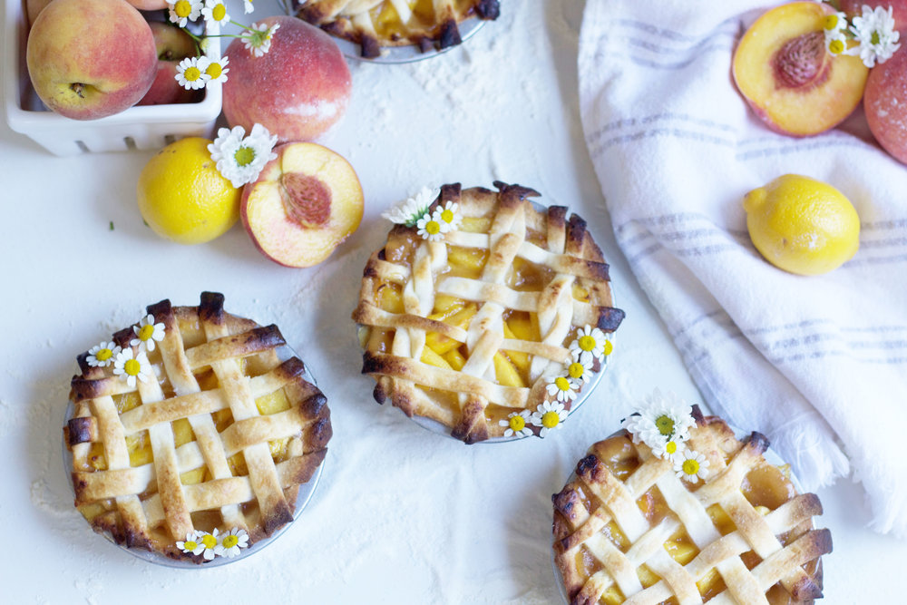Pretty Peach Pie Recipe So Dressed Up