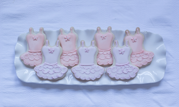 Ballerina Birthday Party Tutu Cookies So Dressed Up